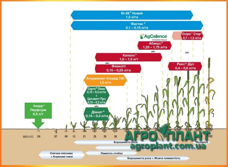 Рекомендации по применению на посевах яровой пшеницы